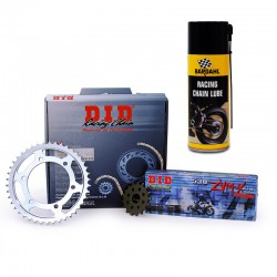 Kit Chaine Acier DID 15-43 525 VX2 Ducati 999 S4R Monster S4Rs 2007-2008