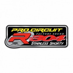 Kit Stickers Échappement R-304 Shorty