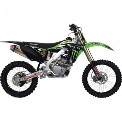 Kawasaki Kx 85 2014- Kit Déco Pro Circuit Monster Energy/Pro Circuit/Kawasaki Race Team Kit