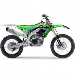 Kawasaki Kx 250 1994-1998 Kit Déco Flu Designs Pro Team Series 2 Pts2