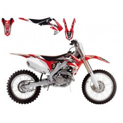 Honda Crf 250 2004-2009 Kit Déco + Housse Blackbird Dream 3