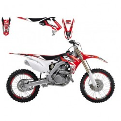 Honda Cr 125 2002-2007 Kit Déco + Housse Blackbird Dream 3