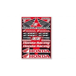 Planche Stickers Blackbird Honda