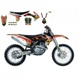 Tm Mx 250 F 2010-2014 Kit Déco Blackbird Dream 3