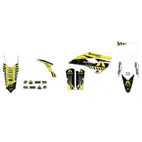 Husqvarna Tc 125 &+ 2014-2015 Kit Déco Arma Energy
