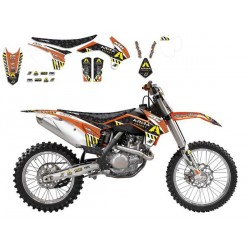 Ktm Sxf 250 2016-2017 Kit Déco Arma Energy